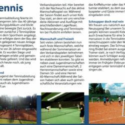 Abt. Tennis - Sportliches Dellmensingen